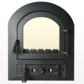 Stove and Fireplace doors