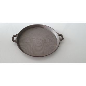 Cast iron 33cm tray with 2 handles